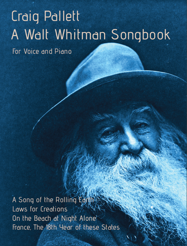 A Whitman Songbook Cover